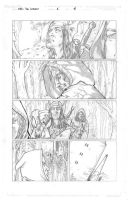 Worlds of Dungeons and Dragons #1, page 2 pencils by JSA