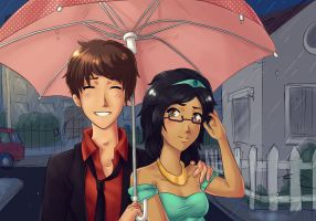 AT: It's Raining On Prom Night by pandatama