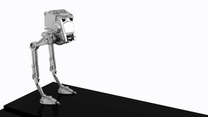 AT-ST First Rig and Animation by ExoticcTofu