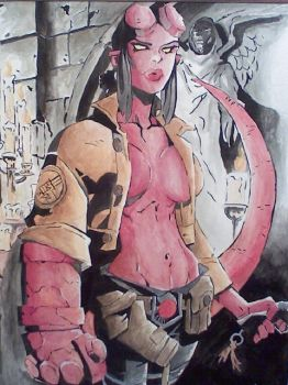 Hellgirl by FluffyWho