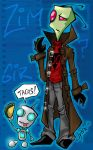 Tall Invader Zim. by Jynxed-Art