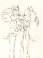 The Wedding (outline) by Aurora-ASB