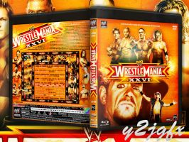 WRESTLEMANIA XXVI Custom Cover by Y2JGFX