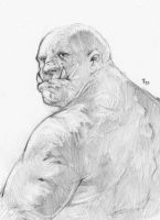 Orc Ogling by the-murdellicious