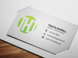 Business Card Layout 2 by ShindaTravis