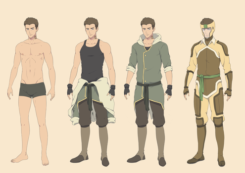 LOK OC: Earthbender Phil by ichan-desu