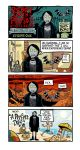 Robot Goth Person Comics by WeaselGuy