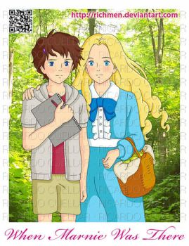 When Marnie Was There - Omoide No Marnie Ghibli by Richmen