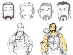 Brig Concept Sketches by TheBitterBullet