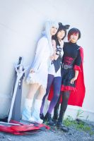 Blake, Weiss and Ruby - Standby by Eiloria