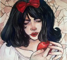 Snow White by Xadrea