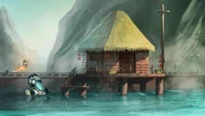 The fisherman house by cury