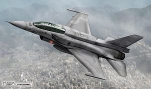 F-16 Block 52 by manx2000