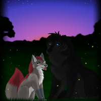 Fireflies by JadeWolfbane