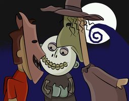 TNBC: Kidnap Mister Sandy Claws by HeroOfZeros