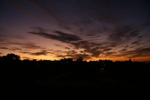 Skies from A Zapateira II by clearice
