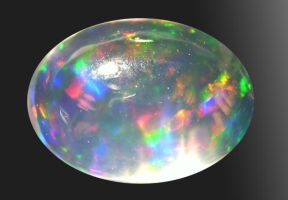Hyalite Opal by indigartistic