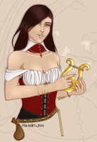 WoW Gold Commission: Melliene by MischiArt