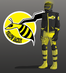 Yellow Jacket Concept Art by Pilot-Obvious