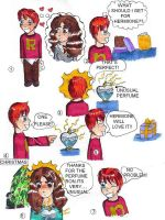 Rons problem: chibi style by bachel60