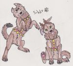 Chewy And Dikey by skywolffang