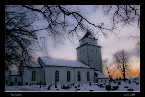 Haug Church, Hokksund by joscon29