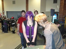 Laughing with Vic Mignogna by Refianku