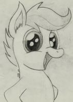 Cute Scoot AGAIN! by TheHarmonicDeviant