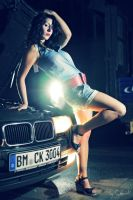 Cora and the Car III by ChrisK-photo