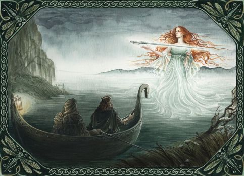 Lady of the Lake by NatasaIlincic