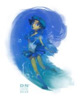 Sailor Mercury! by i-am-MOKEY