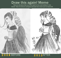 Meme before and after by SajoPhoe
