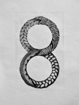 Ouroboros by andutzudarkrage