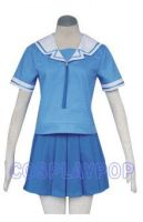 Azumanga Daioh blue uniform Costume for Cosplay by meganpu