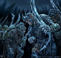 Infighting for LOTR by feliciacano