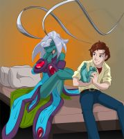 An Alien Sensation M/F by SharkstormBridge