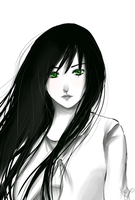 green eyes by Hiyori-Fuuko
