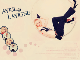 Avril Lavigne Wallpaper by isisphilippe