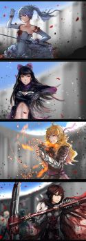 RWBY - The Tournament Compilation by anonamos701