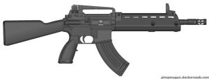 Valhalla Assault Rifle by tylero79