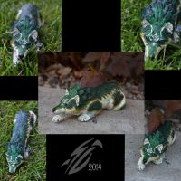 Twilight Princess Wolf Link figure by Blitz32