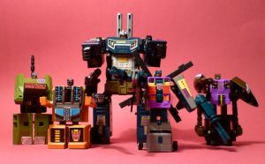 The Combaticons by AUJEANPAS