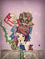 I've never read books Like this Before. Rumbelle by BunniBizzare