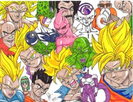 DragonBall Z by nonsensematerial510