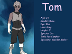 Tom Card by marssetta