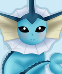 Vaporeon - 2015 by Millefy