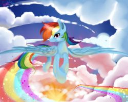 Dashing The Clouds by Moeru789