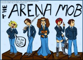 The Arena Mob In Color by SunfallE