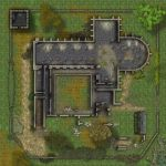 Ruinned Abbey - without roofs by simonutp