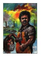 Leatherface by adamgeyer